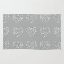 Heart Graphic 6 Rug