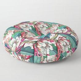 Flowering cactus IV Floor Pillow