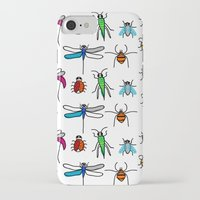 bugs iPhone & iPod Cases featuring Bugs by Rita Sales Luis