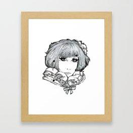 Minori Framed Art Print