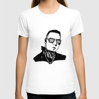 arctic monkeys T-shirts featuring Matt Helders Minimalist Print (Arctic Monkeys) by TallulahLost