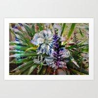 Grave Bouquet Art Print