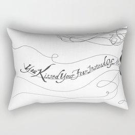 """""""Damaged Goods"""" Rectangular Pillow"""