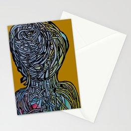 Windower Mustard Stationery Cards