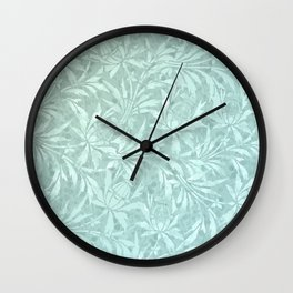 Icy Cold Outside Wall Clock
