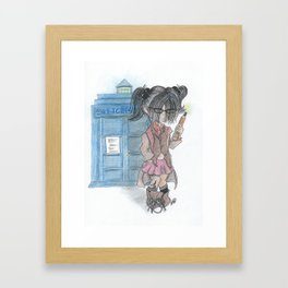 Doctor Sketches Framed Art Print
