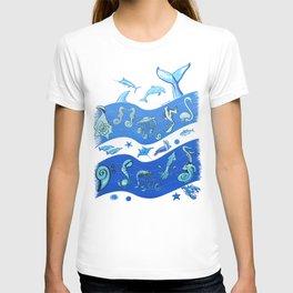 Ocean's Symphony T-shirt