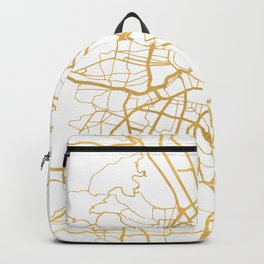 VIENNA AUSTRIA CITY STREET MAP ART Backpack
