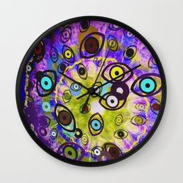 That Thing She Does With Her Eyes Wall Clock