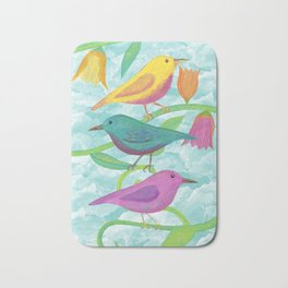 Happy Birds Bath Mat