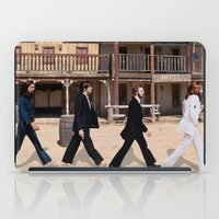 downton abbey iPad Cases featuring Abbey road by eARTh