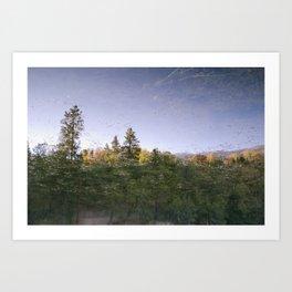 Jenks Lake - Reflection Art Print