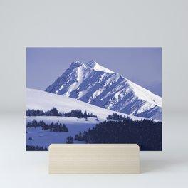 Back-Country Skiing - 8 Mini Art Print