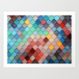 PRETTY - POP COLORS Art Print