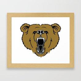 Bear ROAR!  Framed Art Print