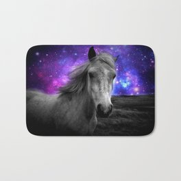Horse Rides & Galaxy Skies Bath Mat
