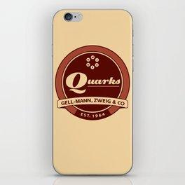 Quarks Vintage Logo iPhone Skin