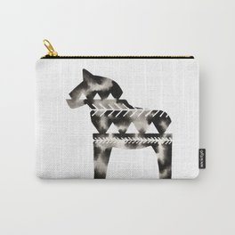 Geometric Dala Horse Carry-All Pouch