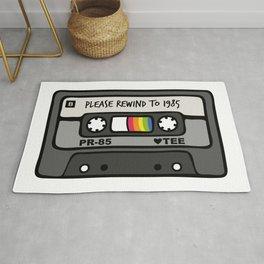 Please Rewind to 1985 Rug
