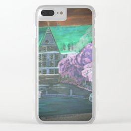 Digital Bobinger Rathaus Clear iPhone Case