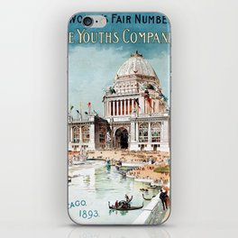 Vintage 1893 Chicago World's fair expo iPhone Skin