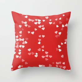 Hearts for Love Throw Pillow
