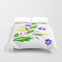 DOG PAW ART Duvet Cover