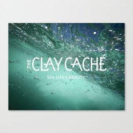 The Clay Cache Canvas Print