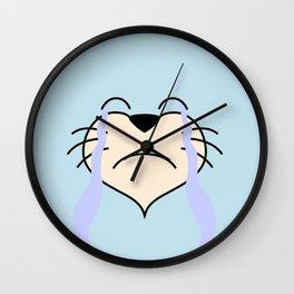 Cat Face 03 Design 04 Wall Clock