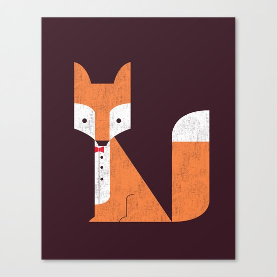 Le Sly Fox Canvas Print