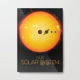 Solar System and Beyond Metal Print