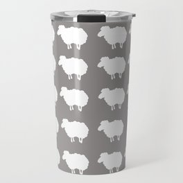 Don't be a sheep, Be a Llama Travel Mug