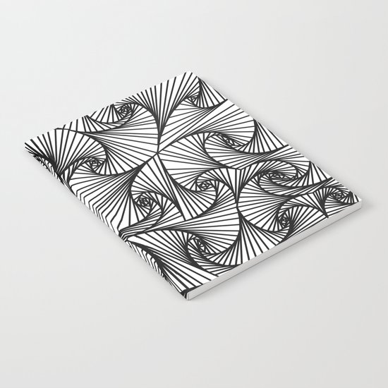 Fractal Sketch Light Notebook