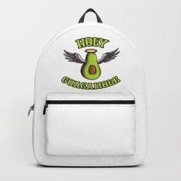 Holy Guacamole   Funny Avocado Saying Backpack