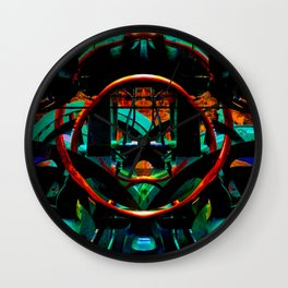 In the Heart of the Machine Wall Clock