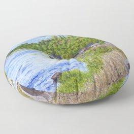 Chinon France Floor Pillow