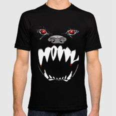 Howl - dark apparel variant MEDIUM Mens Fitted Tee Black