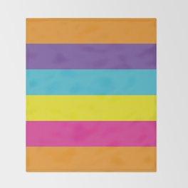 Gender Non-Binary Pride Throw Blanket