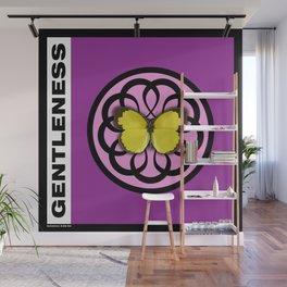 Fruit of the Spirit, Gentleness (Fuschia) Wall Mural