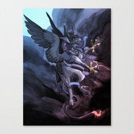 Griffin Rider Canvas Print