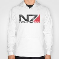 n7 Hoodies featuring Alt Infiltrator by Draygin82