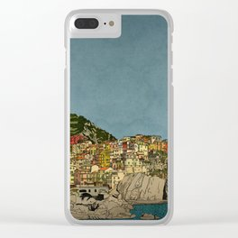 Of Houses and Hills Clear iPhone Case