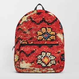 Konya Anatolian 18th Century Rug Fragment Print Backpack