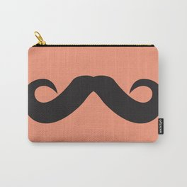 Mustache Carry-All Pouch