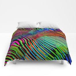 Vague Colorée Comforters