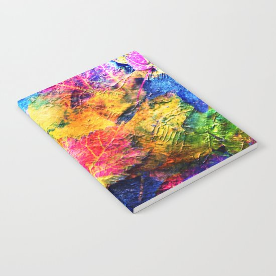 Fall Leave Abstract Notebook