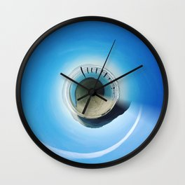 Beach Sphere Wall Clock