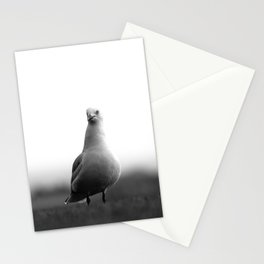 A Portrait of a Pensive Seagull Stationery Cards