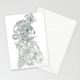 Tigerfish (Wonderful Mess Series) Stationery Cards