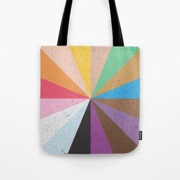 Rainbow Wheel of Inclusivity Tote Bag
